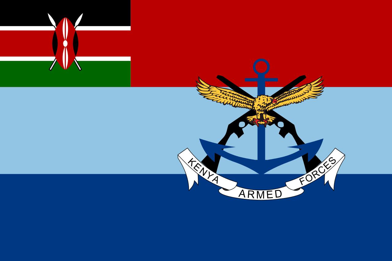 Flag of the Kenya Defence Forces