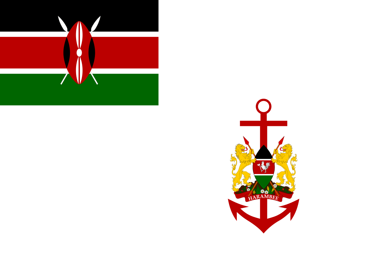 Presidential Color of the Kenyan Navy