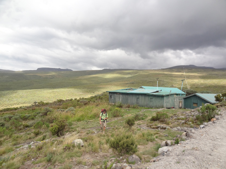 Old Moses base camp, Mount Kenya