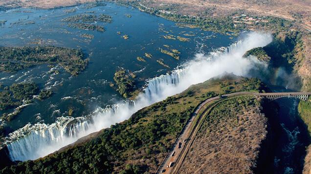 Victoria Falls Zambia and Zimbabwe